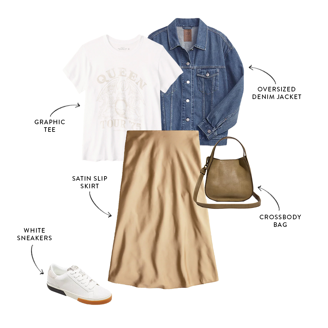 fall capsule outfit